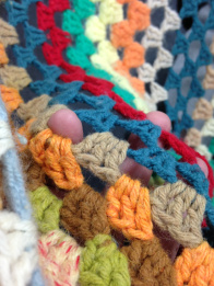 this is a photo of crochet